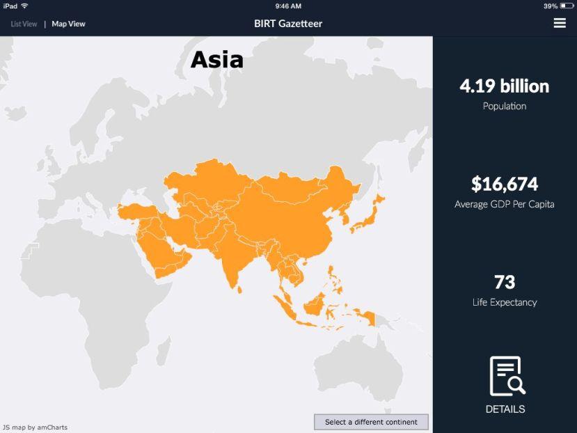 Gazetteer IoS App
